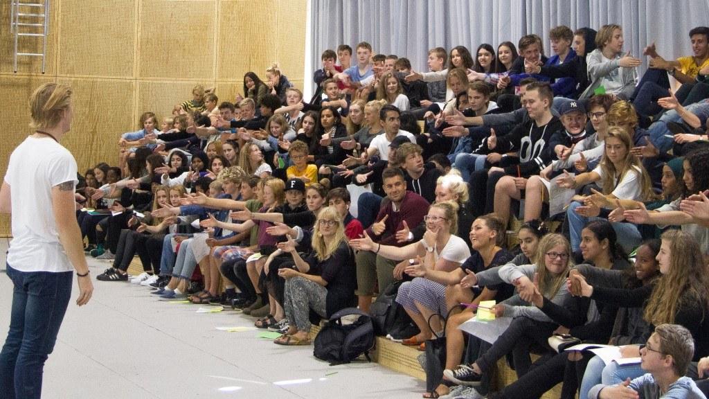 foredrag til unge, skoler og elever