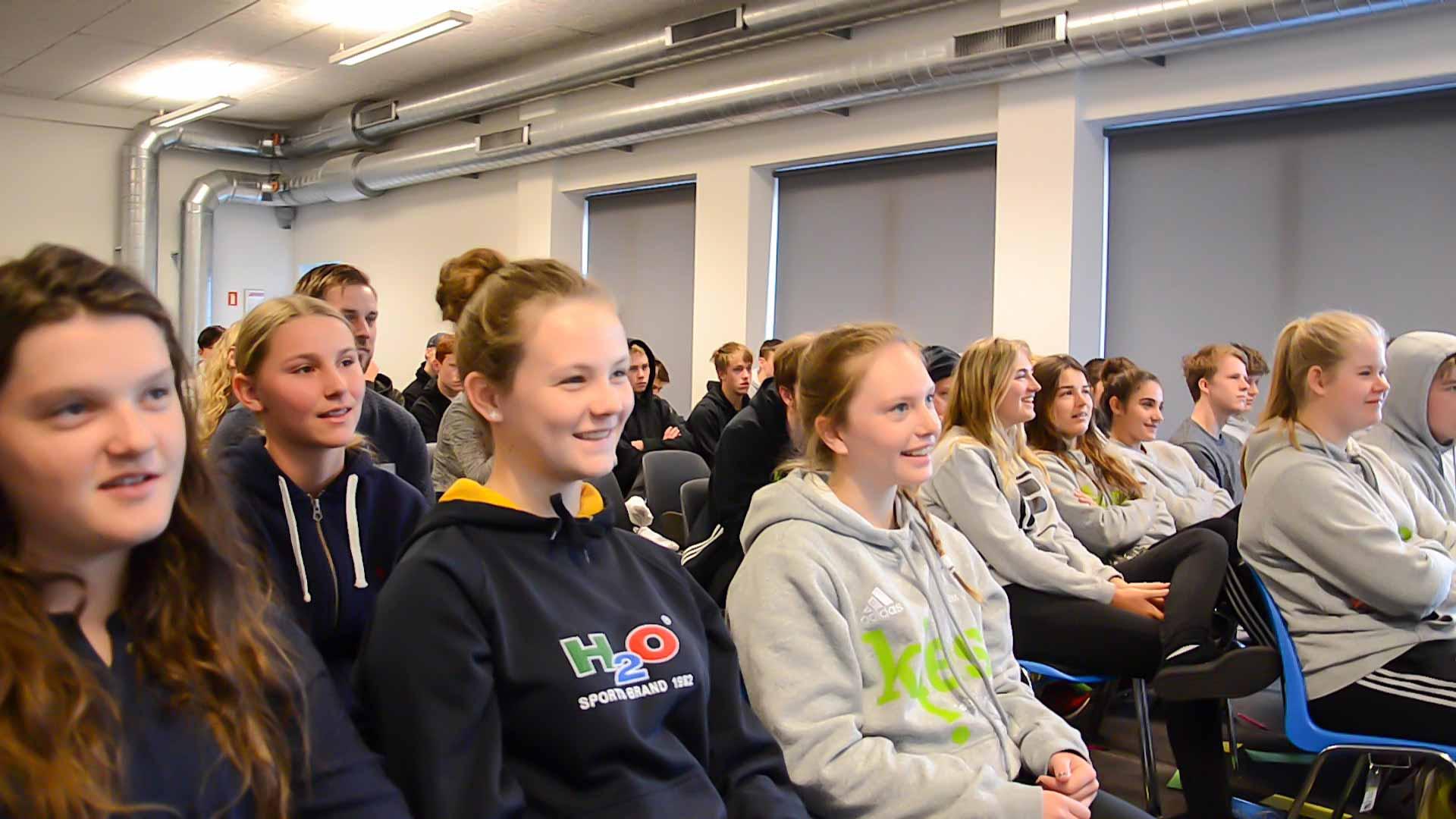 foredrag på efterskoler og folkeskoler