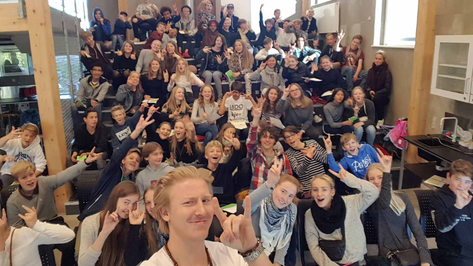 Foredrag for elever og skoleelever